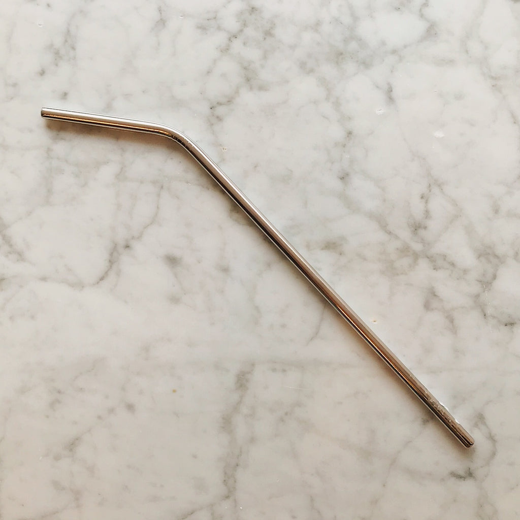 Bent Stainless Steel Reusable Straw