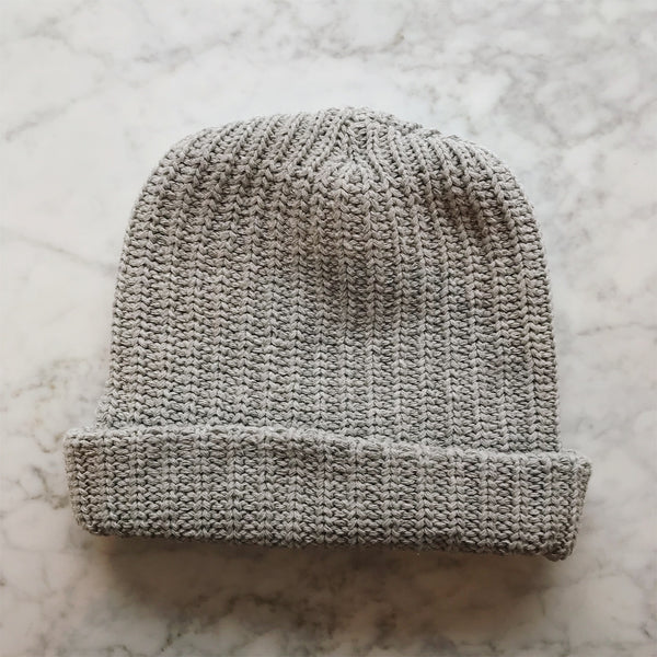 Cotton Hat in Gray