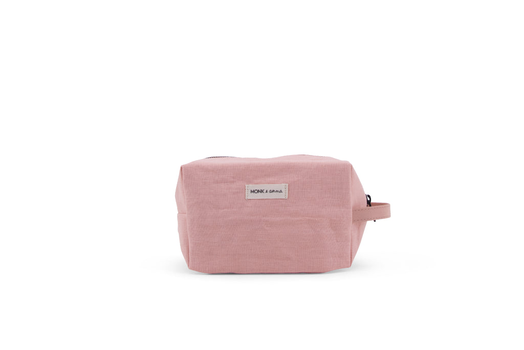 Linen Toiletry Bag in Dawn