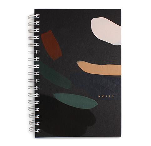 Painted Notebook Moonlight