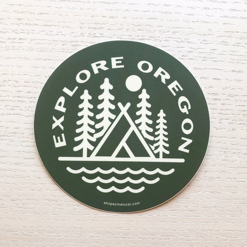 Explore Oregon Sticker