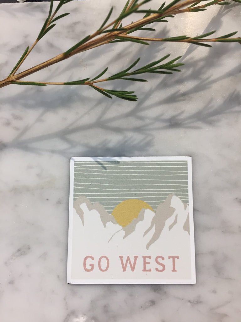 Go West Magnet