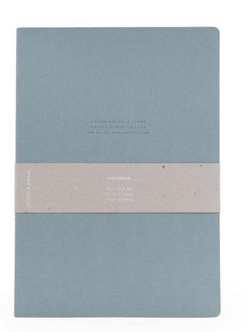 XL Quote Notebook in Dusty Green