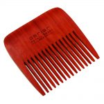 Rosewood Wide-Tooth Beard Comb