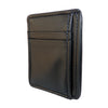 Black Lambskin Leather Front Pocket Wallet