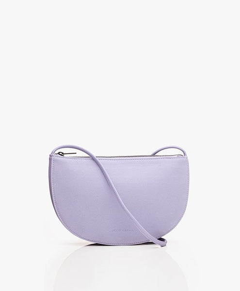 Half Moon Bag in Lilac