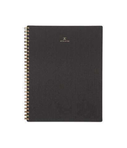 Charcoal Gray Notebook