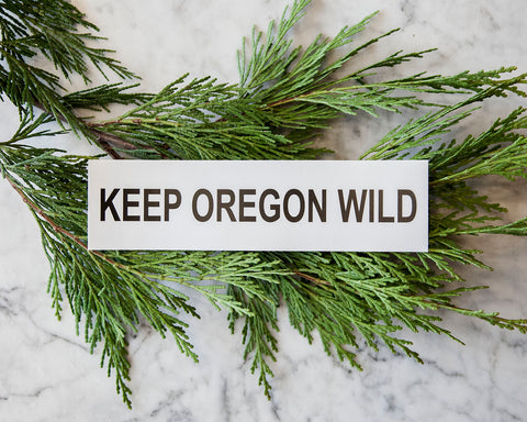 Keep Oregon Wild Sticker