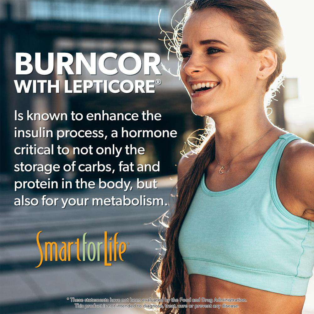 BurnCor with Lepticore® - Smart for Life Cookie Diet