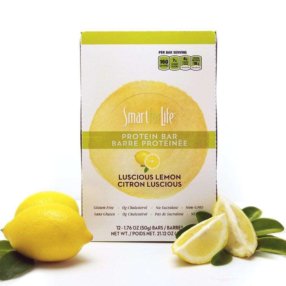 Low Sugar Luscious Lemon Protein Bars - Smart for Life Cookie Diet