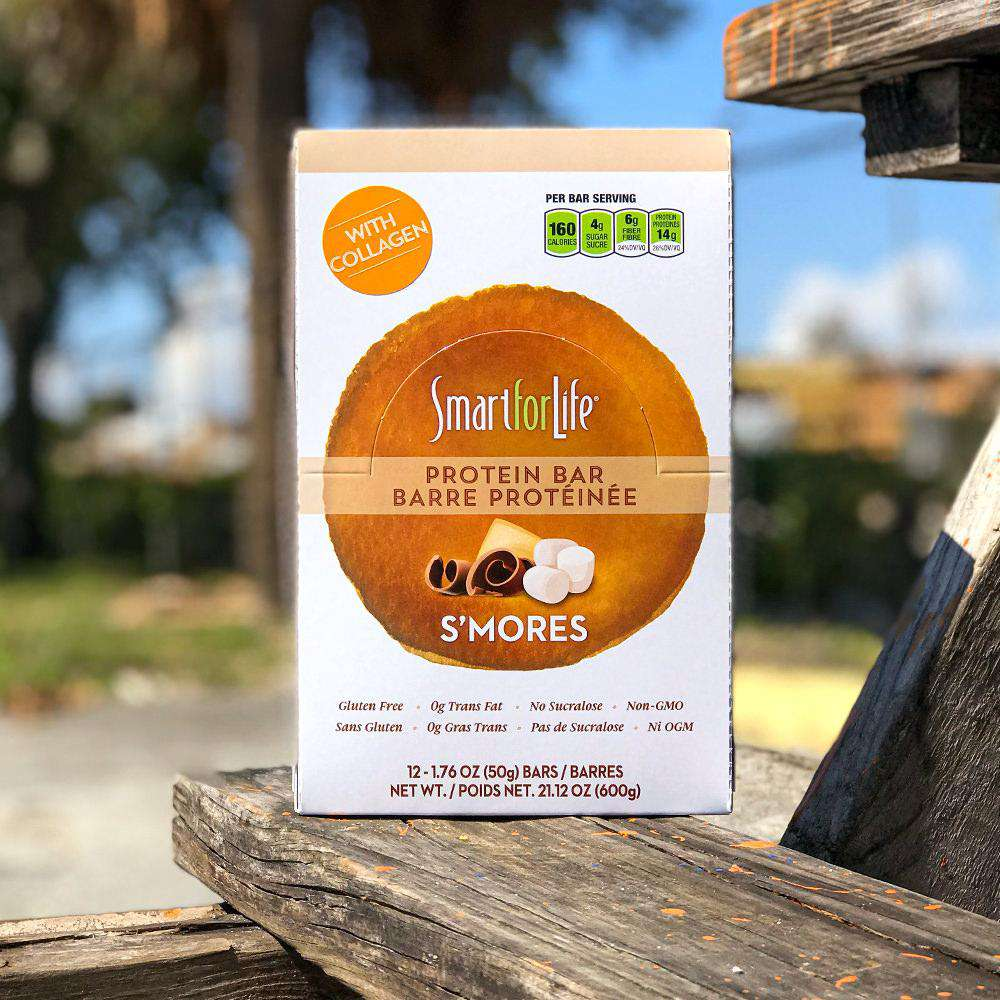 12 Ct. Low Sugar S'mores Protein Bars - Shop Smart for Life