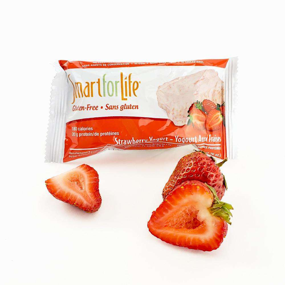 Strawberry Yogurt Protein Bars - Shop Smart for Life