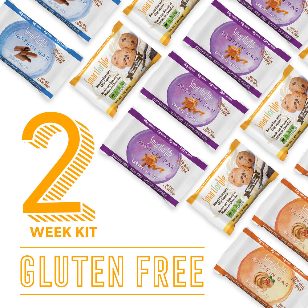 2 Week Gluten Free Weight Loss Kit w/ Protein Bars
