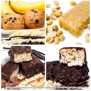 2 Week Gluten Free Weight Loss Kit w/ Protein Bars - Smart for Life Cookie Diet