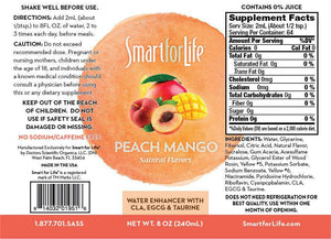 Zero Sugar Peach Mango Water Enhancer (Large Bottle) - Shop Smart for Life