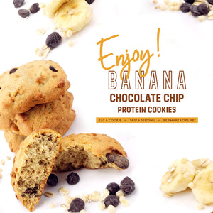 Gluten Free Banana Chocolate Chip Cookies (12 Ct.) - Smart for Life Cookie Diet