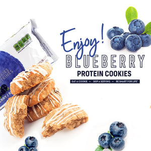 Blueberry Cookies - Smart for Life Cookie Diet