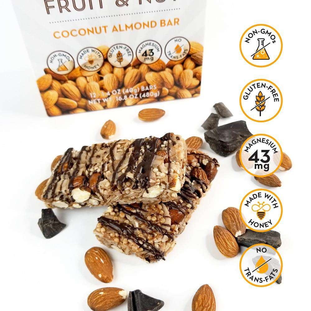 12 Ct. Coconut Almond Fruit & Nut Bar - Shop Smart for Life