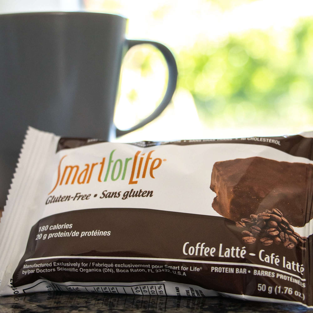 Coffee Latte Protein Bars - Smart for Life Cookie Diet