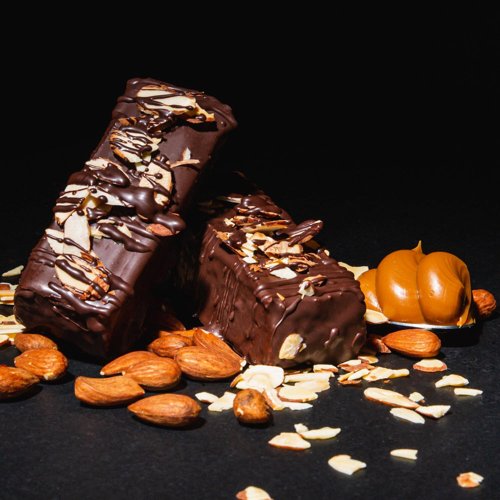 Gourmet Toasted Almond Caramel Protein Bar - Smart for Life