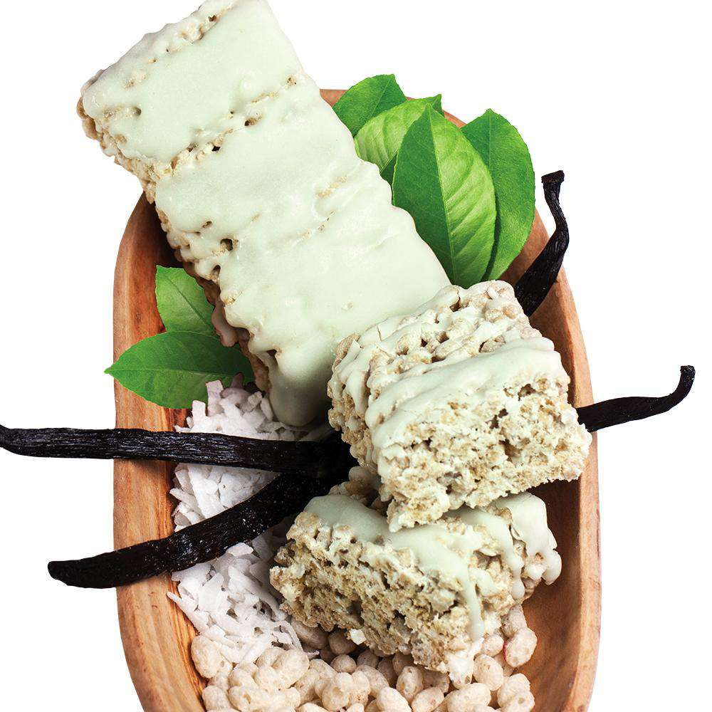 Green Tea Protein Bars