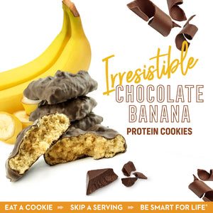 Irresistible Chocolate Banana Cookies (12 Ct.) - Smart for Life Cookie Diet