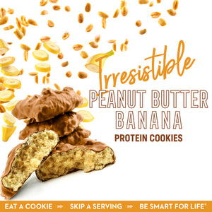 Irresistible Peanut Butter Banana Cookies - Smart for Life