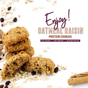 Oatmeal Raisin Cookies - Smart for Life