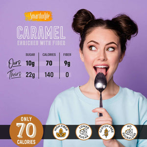 Caramel Enriched with Fiber - Smart for Life