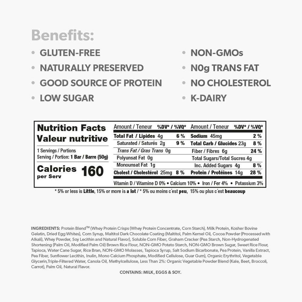 Low Sugar Protein Bar Sample Kit - Smart for Life Cookie Diet