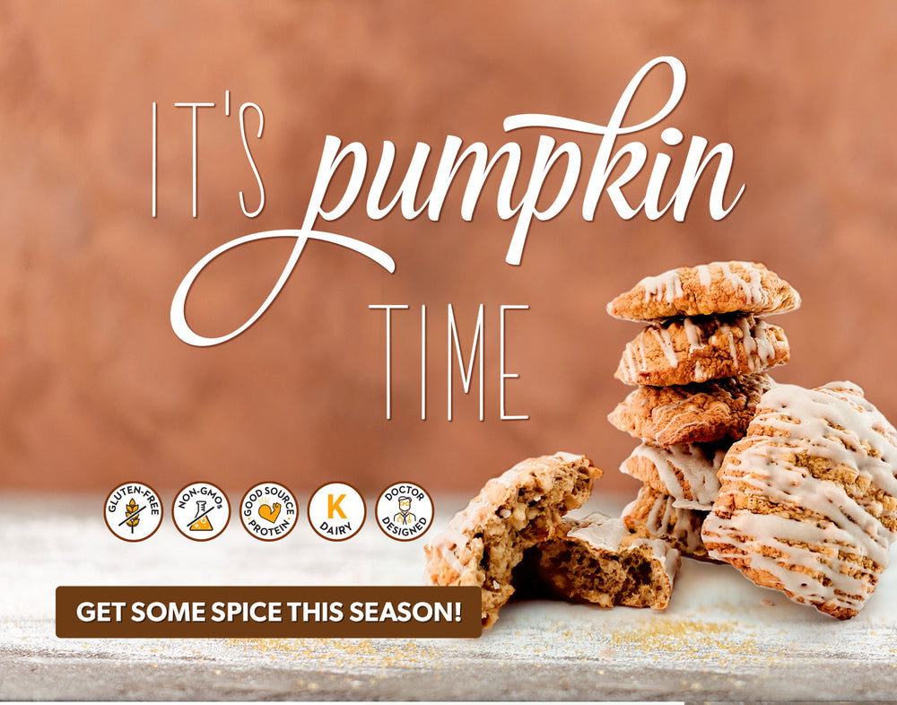 Pumpkin Spice Cookies (12 Ct.) - Smart for Life