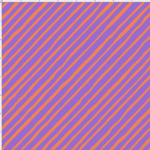 Bias Stripe Purple/Orange