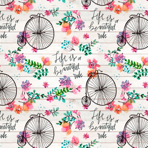 Beautiful Ride Cream/Multi Floral