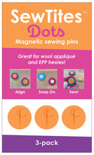Load image into Gallery viewer, SewTites Magnetic Pin Dots 3 Pack