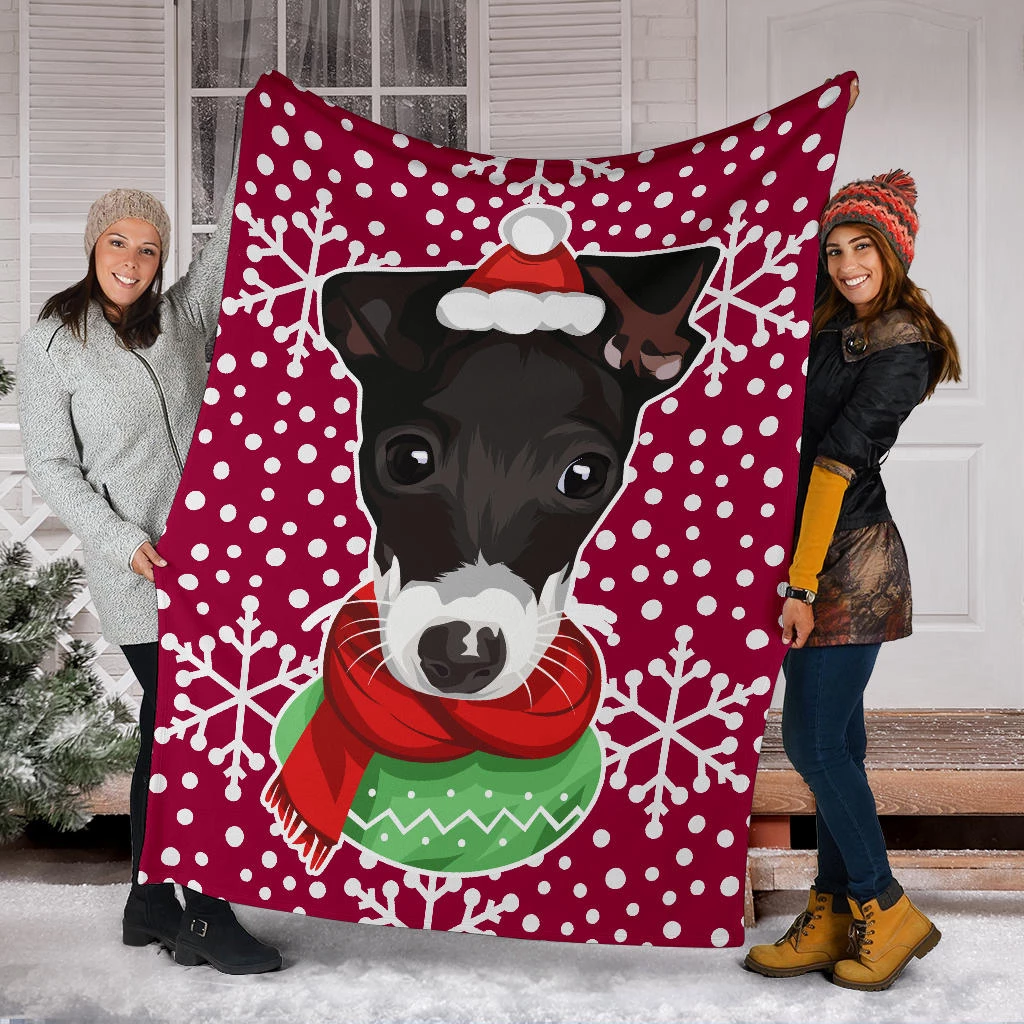 Some dogs don't love to cuddle. Here's what you do – put their face on a blanket, and snuggle up in the blanket.