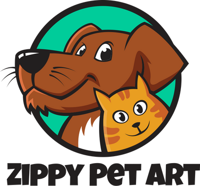 Zippy Pet Art - Custom Pet Arts | Custom Pet Portraits