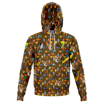 Custom Matching Human Hoodie - Fishing Theme