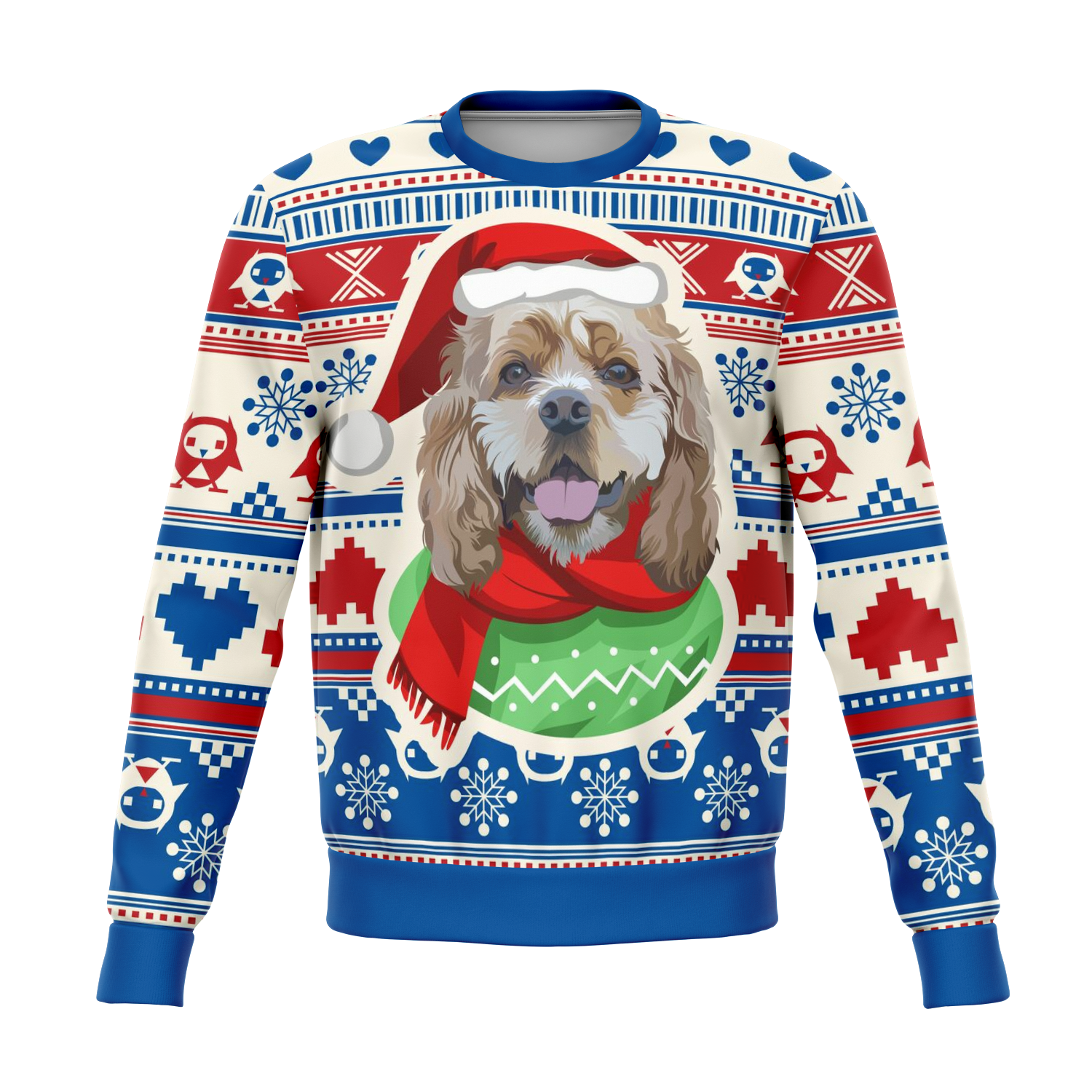 Custom Christmas Sweater for Dog Owners - 006