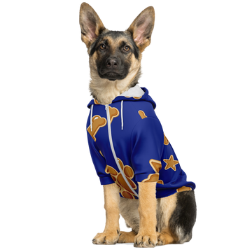 Matching Dog Zip Up Hoodie - Blue
