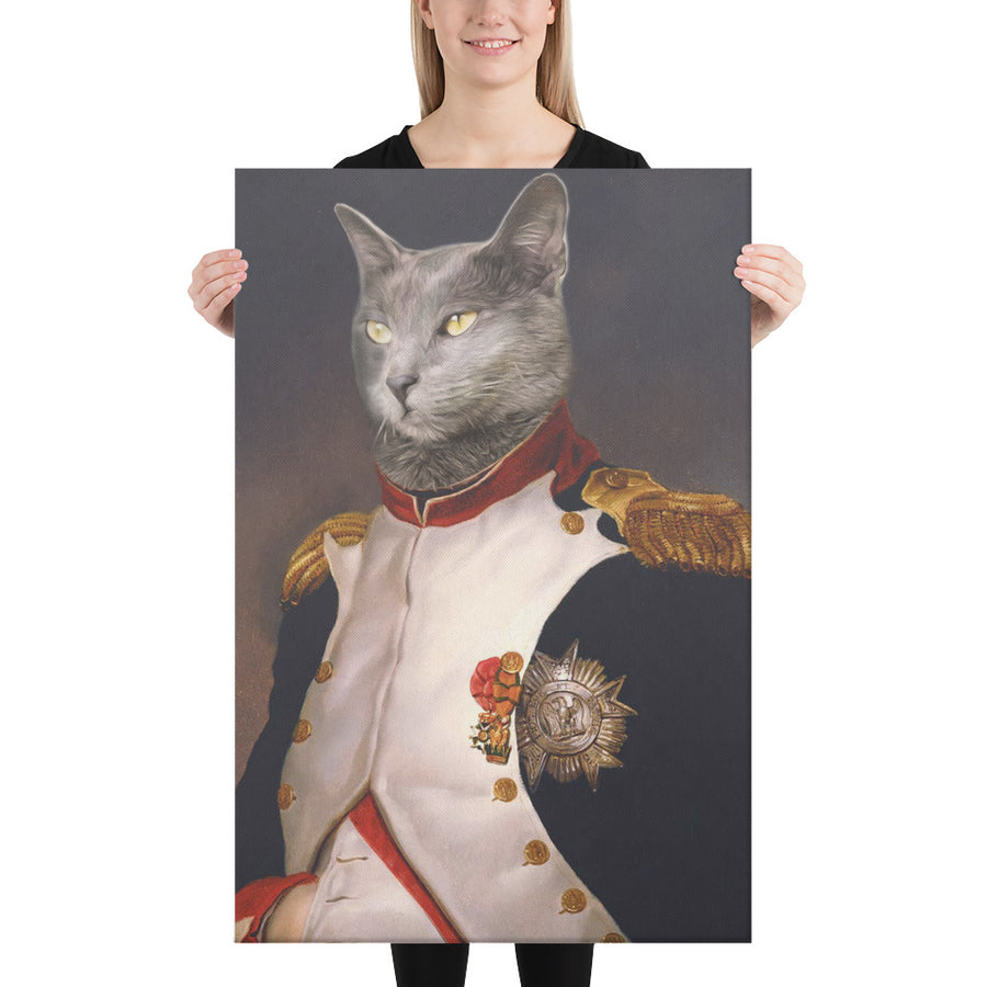 The NaPAWleon Custom Pet Portrait