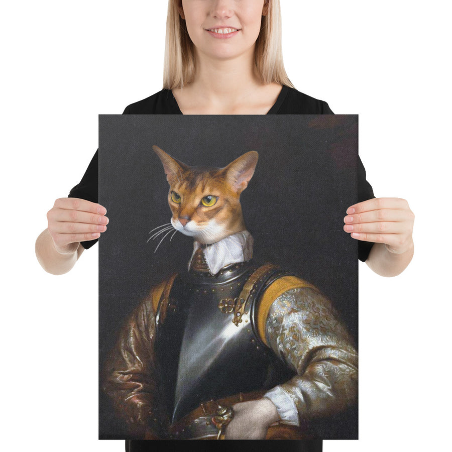 Knight Pawston Custom Pet Portrait