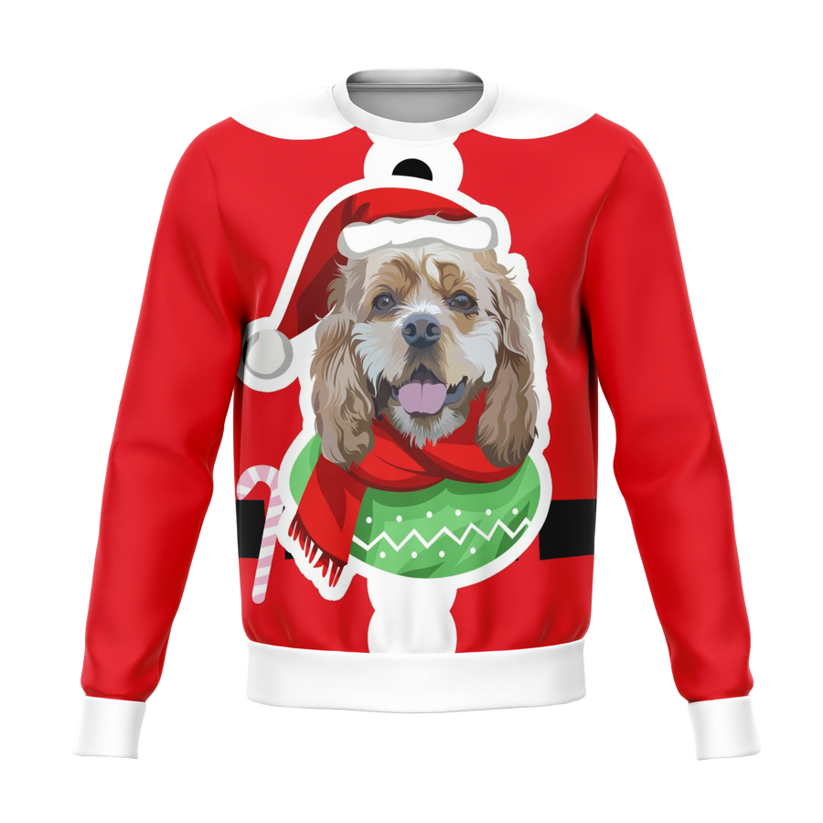 Custom Christmas Sweater for Dog Owners - 007