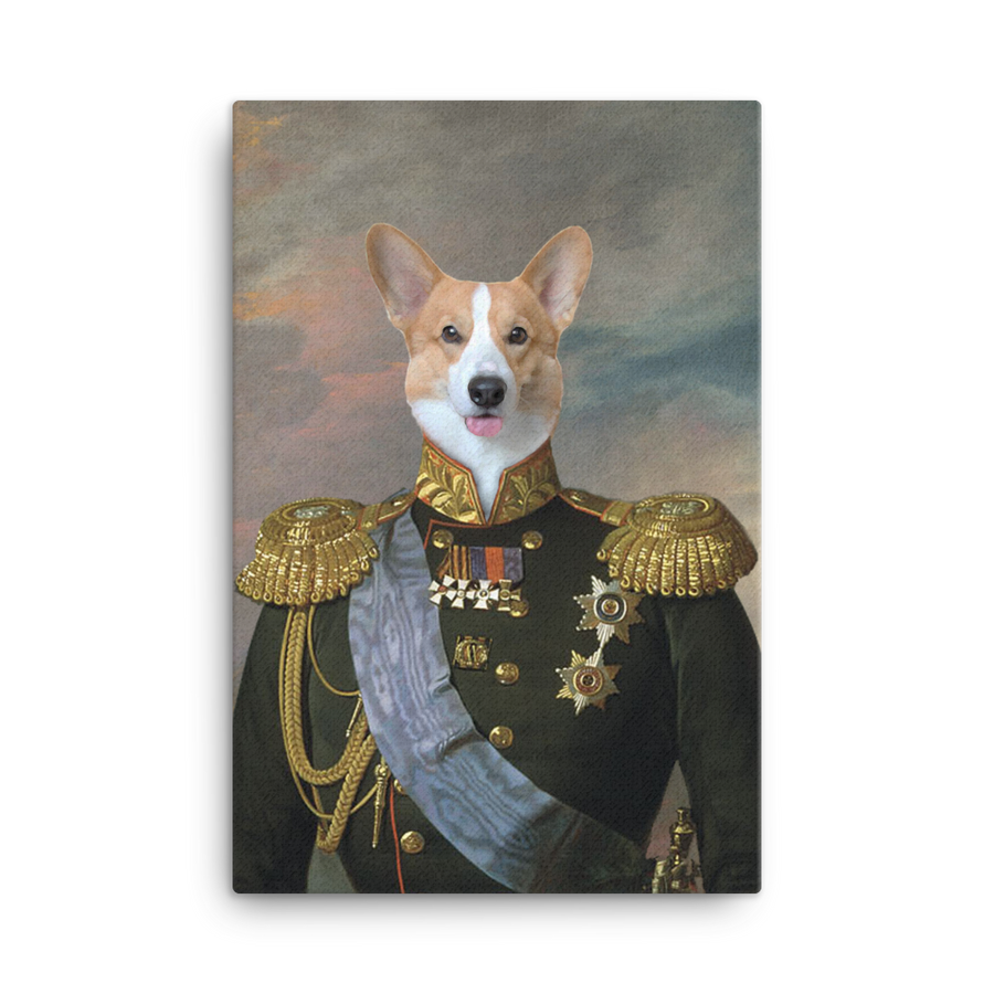 Sir Alexander the Pawhyer Custom Pet Portrait