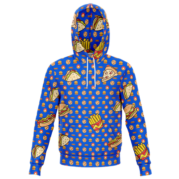 Custom Matching Human Hoodie - Fast Food Theme