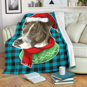 Custom Dog Blanket - Buffalo Plaid 023