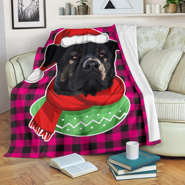 Custom Dog Blanket - Buffalo Plaid 025