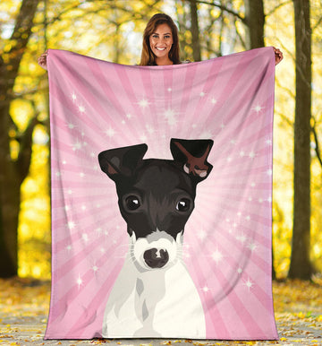 Custom Pet Fleece Blanket - Princess Collection