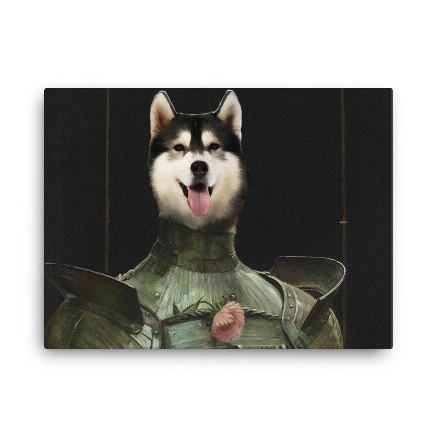 Earl of Wooflandy Custom Pet Portrait