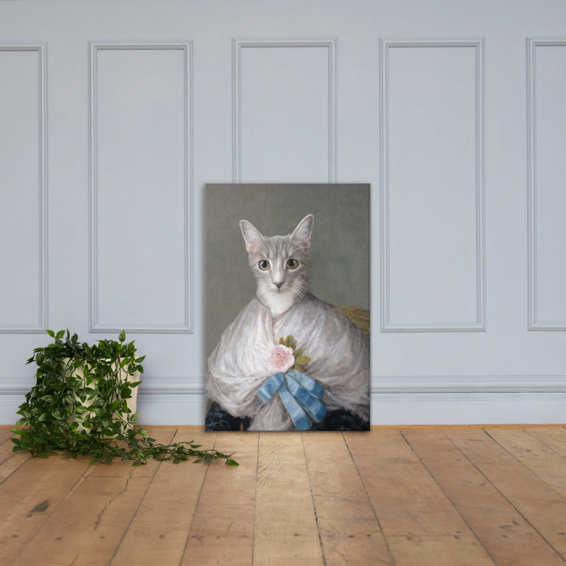 Purr Antonia Custom Pet Portrait