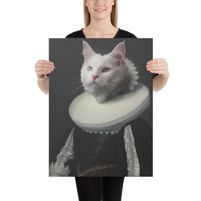 Lady Furbulos Custom Pet Portrait